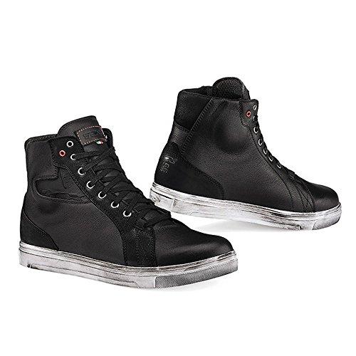 - TCX Street Ace Waterproof Men's Street Motorcycle Shoes - Black / 45
