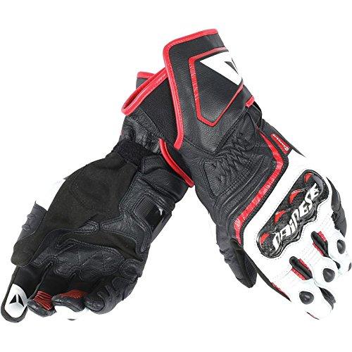 - Dainese Men's Carbon D1 Long Gloves (Black, M), 2 Pack