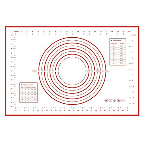 Silicone Measurements Non Slip Perfect Rolling