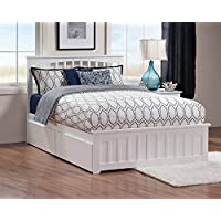 Eco-friendly Queen Bed (White Finish)