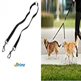 Double Dog Leash - Fusion Pet Supplies - No Tangle Double Dog Leash Coupler - Double Dog Walker Splitter - For Two Small-Medium Sized Dogs