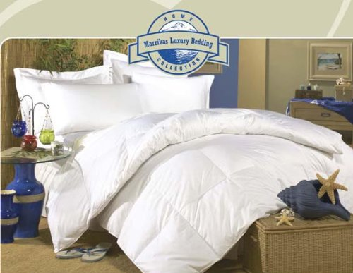 MARRIKAS (TM) 700TC Hungarian Goose Down KING Comforter