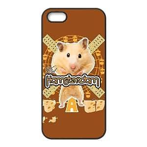 iPhone 5 5s Cell Phone Case Black VISIT HAMSTERDAM BNY_6768644