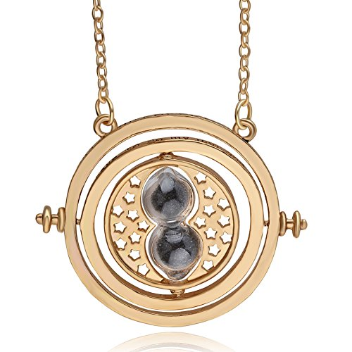 Classic Magic Hourglass Pendant Necklace Time Turner Necklace for $<!--$7.99-->