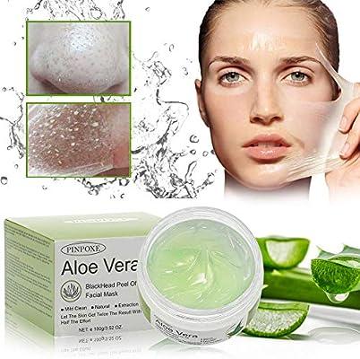 Blackhead Remove Masks Peel Off Mask Aloe Vera Face Mask Blackhead Mask Acne Killer Deep Cleansing Blackhead Crystal Mask 100g Amazon Co Uk Beauty
