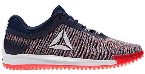 Reebok Jj Ii Low Shoe Mens Training White-collegiate Navy-primal Red-excelle