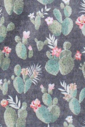 Womens Prickly Pattern Cactus Tank Top