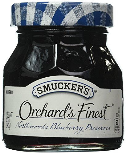Smucker's  Orchard's Finest  Northwoods Blueberry Preserves, 12-Ounce (Pack of 6)