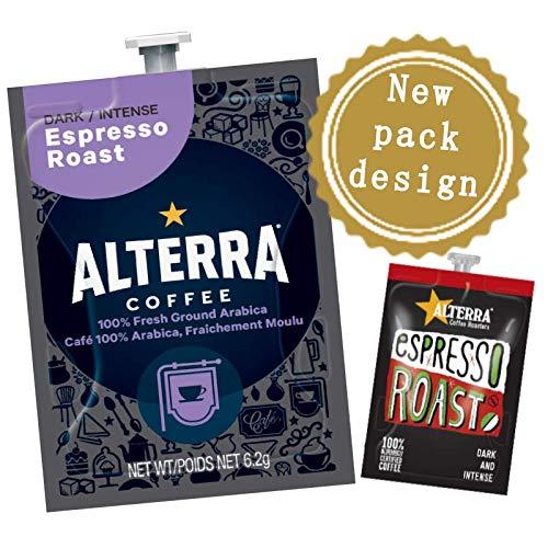 Flavia Alterra café - Espresso asado - 100 bebidas sobres - para máquina de café FLAVIA: Amazon.es: Alimentación y bebidas