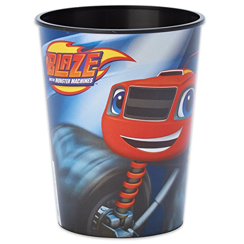 16oz Blaze and the Monster Machines Birthday Party Plastic Loot Treat Favor Keepsake cups (8)