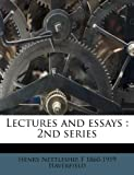 Lectures and Essays, Henry Nettleship and F. 1860-1919 Haverfield, 1178847004