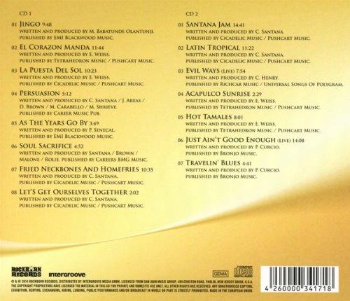 Santana masterpieces gold edition (2014). Rar 11. Muza wassyl2.