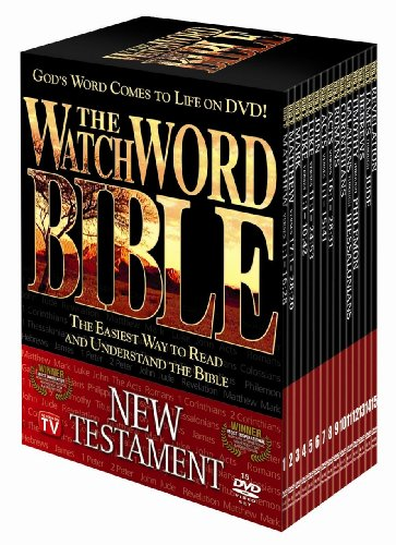 WatchWORD New Testament Audio Bible on 10 DVD's (Watch Word in Contemporary English Version) by Watchword Productions