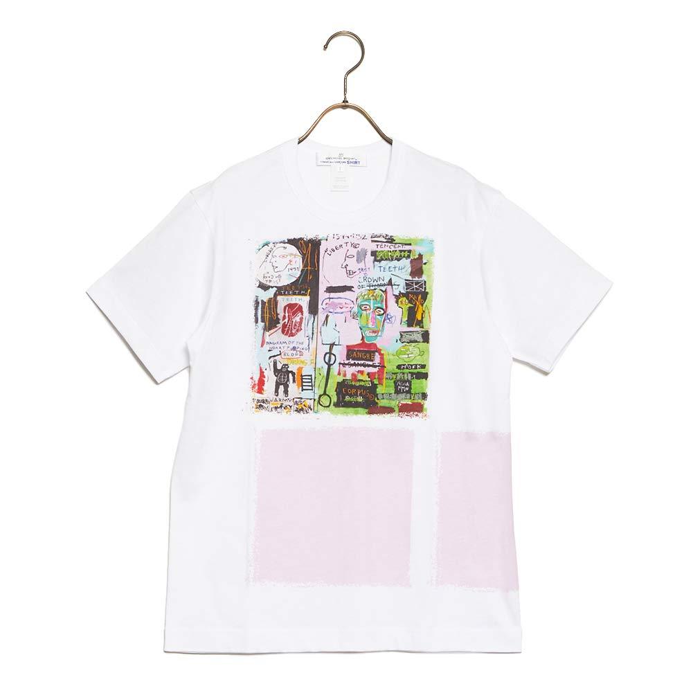 高品質の人気 (コムデギャルソン) COMME des GARCONS w26103 Tシャツ SHITRT COTTON GARCONS JERSEY JERSEY WITH DIGITAL PRINTING BASQUIAT デジタル プリンティング バスキア w26103 メンズ 2019SS WHITE×PRINT D M [並行輸入品] B07MTCXF2L, BCブランドコレクション 仙台:77b0b3d7 --- brp.inlineteambrugge.be