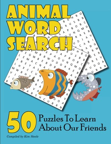 Animal Word Search: 50 Puzzles to Learn About Our Friends PDF