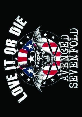 LPGI Avenged Sevenfold Love it or Die Fabric Poster, 30 by 40-Inch (Avenged Flag Poster Sevenfold)