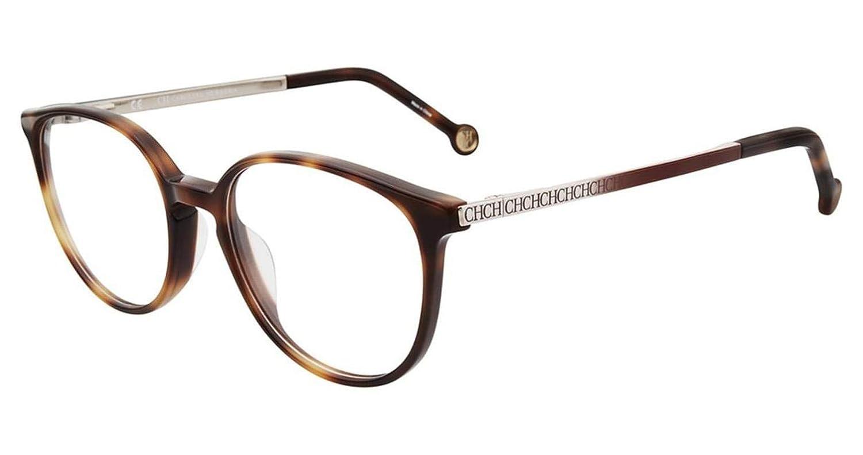 eba1c127cd Amazon.com: Carolina Herrera Designer Reading Glasses VHE759K-0700 in Black  50mm: Clothing