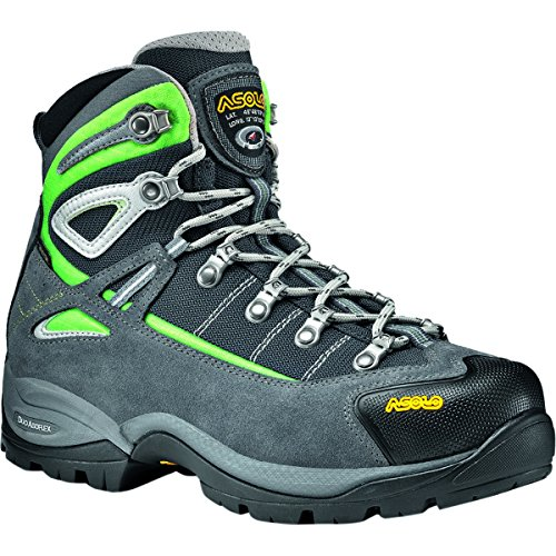 Asolo Women's Futura GORE-TEX Hiking Boot,Grey/Jade Green,US 9 M
