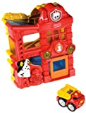 Fisher-Price Lil' Zoomers Racin' Ramps Firehouse, Baby & Kids Zone