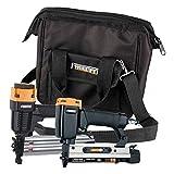 Freeman PPPBRCK 2-Piece Brad/Pinner Kit with Nails and Canvas Storage Bag Ergonomic &...