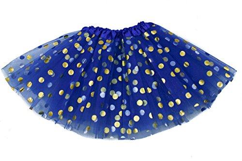 Blue 2 Satin Skirt - 8