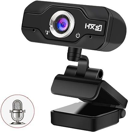 USB 2.0 HD Webcam Camera Web Cam w// Microphone Mic for Skype Computer Laptop