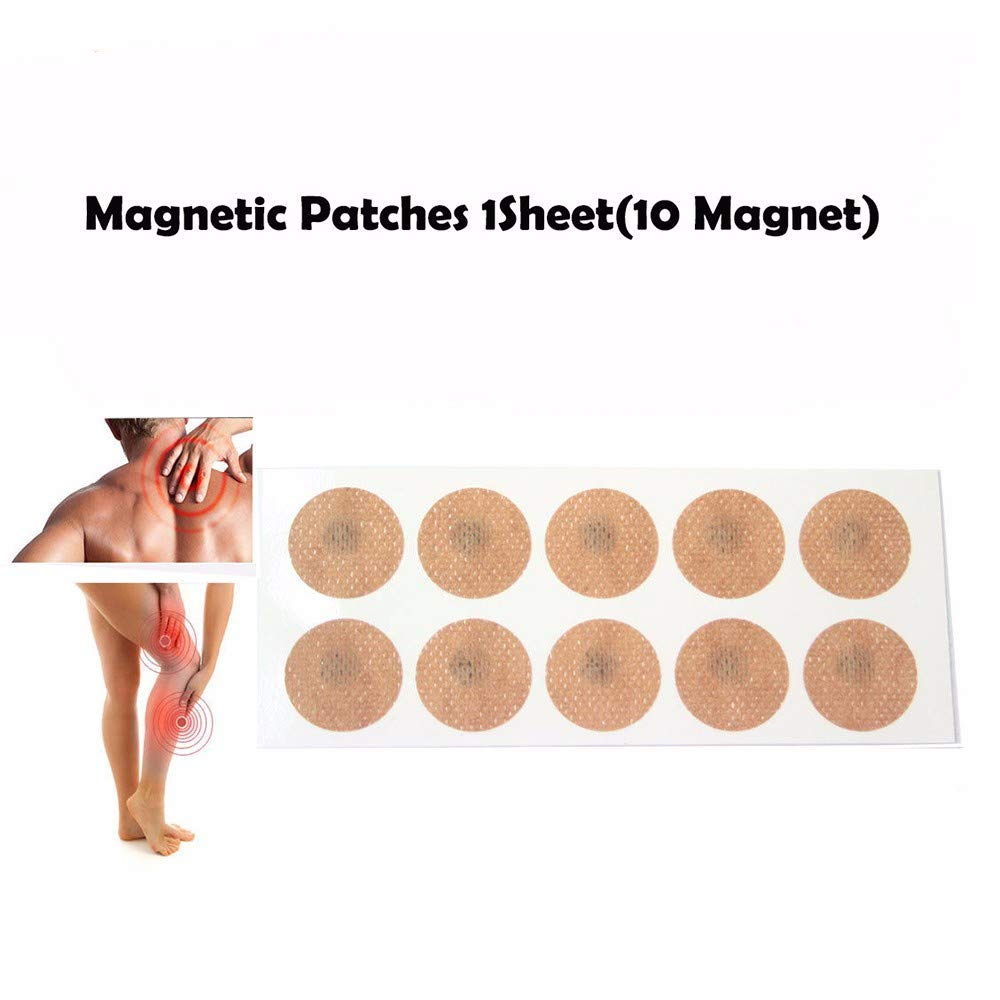 Magnetic Acupressure Patches Pain Relief Body Magnet Muscle Patches Plasters Natural Healing Magnet Therapy by AlexGT (Image #3)