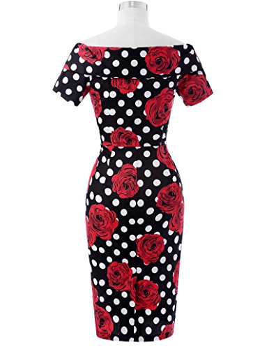Robes De Crayon Pour Les Femmes Mince Taille De La Longueur Du Genou En Forme Usa16 Bp117-5