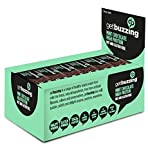 getbuzzing High Protein Nut & Gluten Free Flapjack - Mint Chocolate - Pack of 12x62g