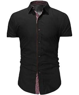 Britainlotus Mens Fashion Chinese Style Short Sleeve Cotton Linen V Neck T-Shirt+Shorts Outfits