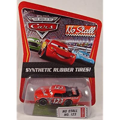 Disney / Pixar CARS Movie Exclusive 1:55 Die Cast Car with Sythentic Rubber Tires No Stall: Toys & Games