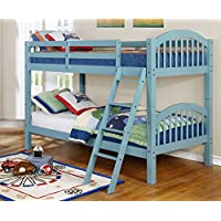 Major-Q Wood Frame Bunk Bed with Easy Access Guard Rail (SH45215-55)