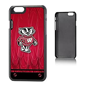 Wisconsin Badgers iPhone 6 (4.7 inch) Slim Case Ghost NCAA