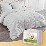 HALL-MARK Climate Control Summer Cool Duvet, White, 4.5 Tog, King Size