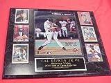 Cal Ripken Jr Orioles 6 Card Collector Plaque w/8x10 3000th Hit Photo