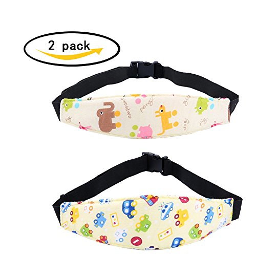 Ride 2 Infant Car Seat (Affordable 2 Pcs Infants and Baby Head Support, Safety Car Seat Neck Relief, Safety Stroller Sleeping Belt, Offers Protection and Safety for Kids)