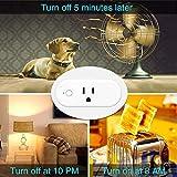 TanTan Smart Plugs, 16A Wi-Fi Mini Outlet Socket