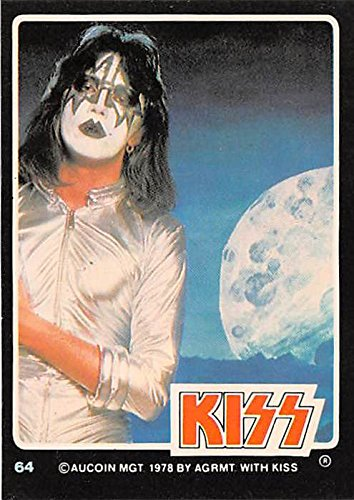 Ace Frehley trading card Kiss 1979 Donruss Rockstars #64 Rock n Roll All Night