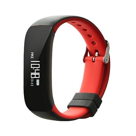 NONMON Bluetooth SmartWatch Reloj Inteligente Deportivo Monitor de Presión Arterial/Ritmo Cardíaco/Actividades/