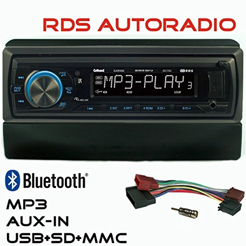 RDS AUTORADIO GXR550 USB SD Bluetooth UKW/MW Ford Focus Fiesta Mondeo Transit Gelhard
