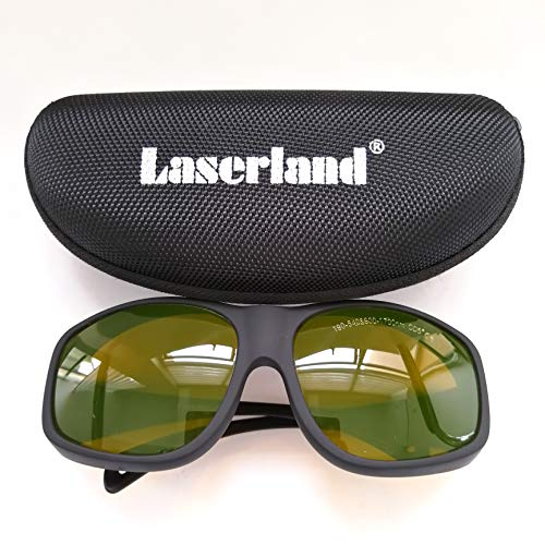 EP-1-9 OD5+ 190-540nm and 800-1700nm 532nm 808nm 1064nm ND:YAG UV green IR Laser Protection Goggles Safety Glasses CE OD5+