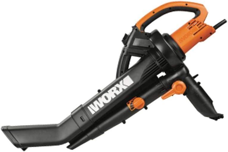 Worx WG505E - Soplador, aspirador y triturador, 3 en 1 (3000 W)