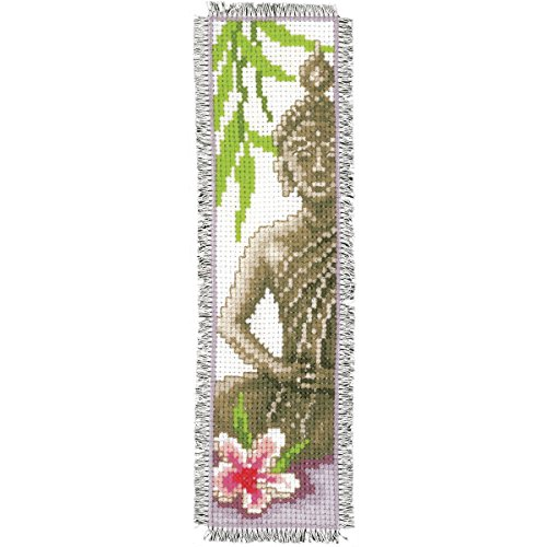 Vervaco PN-0143911 | Lady Buddha Bookmark Counted Cross Stitch Kit