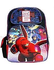 Disneys Big Hero Six Full Size Childrens Backpack (17in)