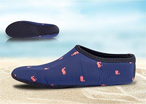 da Scarpette Juleya Snorkeling Scarpe Adulti Bagno Esercizi di Scarpe 6 Donna Surf Mare Scoglio da Uomini Immersione Spiaggia Yoga da Corsa Unisex tXXpxqCw