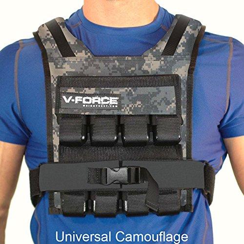 Weight Vest 40 Lb V-Force Basketball (Uni Cam)