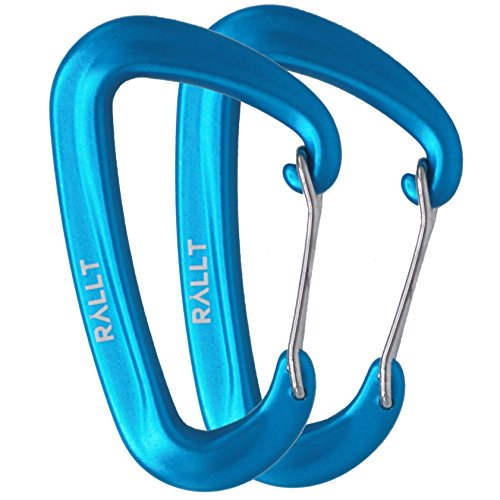 Rallt Aluminum Wire Gate Carabiners product image