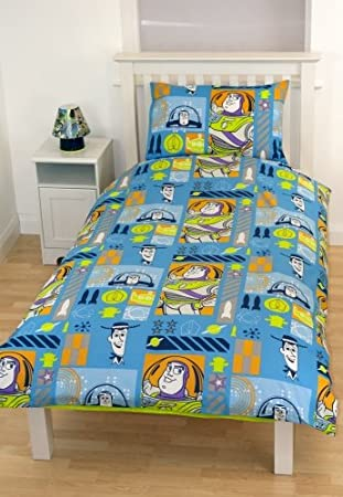 Disney Toy Story 3 Bettwäsche Mit Woody Und Buzz Lightyear 135x200
