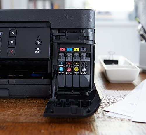 Brother Wireless All-In-One Inkjet Printer, MFC-J895DW, Multi-Function Color Printer, Duplex Printing, NFC One Touch to Connect Mobile Printing, Amazon Dash Replenishment Enabled 51gOcbv9xyL