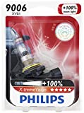 Philips 9006 X-tremeVision Upgrade Headlight Bulb, 1 Pack